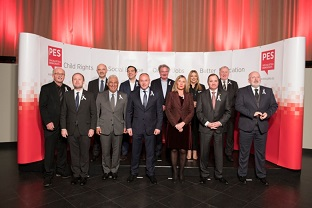 PES leaders assembled in Brussels for the pre-council meeting